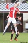 Pars v Ayr United 22nd February 2014. Josh Falkinham v Craig Malcolm.