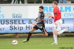 Pars v Ayr United 22nd February 2014. Faissal El Bakhtaoui v Scott McLaughlin.