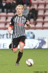Jonathon Page. Pars v Ayr United 22nd February 2014.