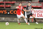 Pars v Ayr United 22nd February 2014. Stephen Husband v Adam Hunter.