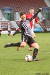 Pars v Ayr United 22nd February 2014. Lawrence Shankland make it 3-0 with this effort!