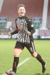 Pars v Ayr United 22nd February 2014. Lawrence Shankland wraps up the game!