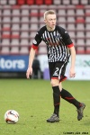 Ross Millen. Pars v Ayr United 22nd February 2014.