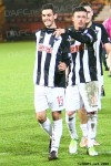 Shaun Byrne, Joe Cardle and Stephen Husband. Pars v Dumbarton 24th November 2012.