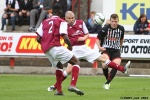 Pars v Arbroath 17th August 2013. Alex Whittle in action.