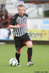 Andrew Geggan. Pars v Arbroath 17th August 2013.