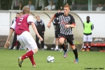 Pars v Arbroath 17th August 2013. Ryan Thomson v Colin Hamilton.