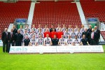 Dunfermline Athletic Squad and Directors 2008-2009.