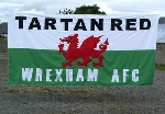 The banner of Tartan Red aka Nathan Davies.