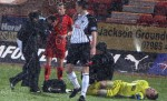 Pars v Dundee 30th March 2010