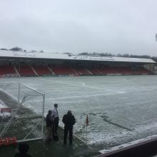 Snow and match abandoned